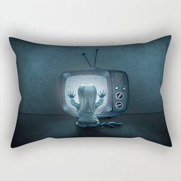 Tune in Poltergeists Rectangular Pillow