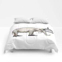 Elefante con gafas, espera. Comforters