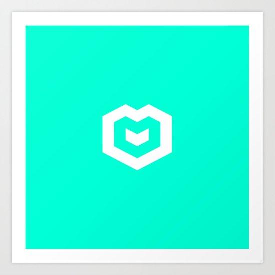 Spires logo Art Print
