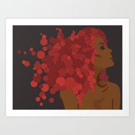 Woman of Bronze Art Print