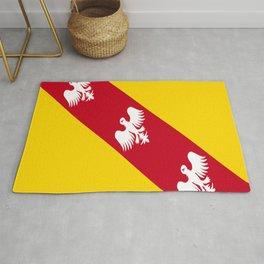 flag of lorraine Rug