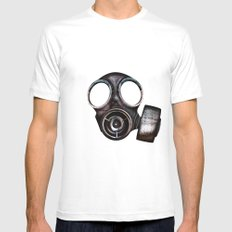 Nukes Ahoy! White MEDIUM Mens Fitted Tee