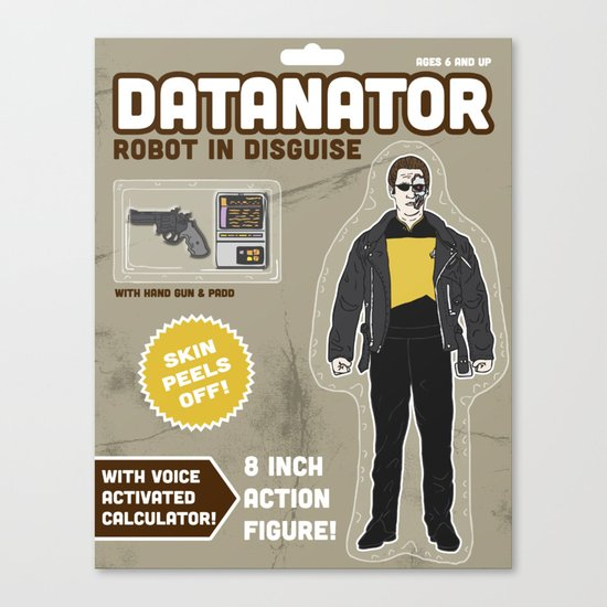 Datanator: Robot in Disguise Canvas Print