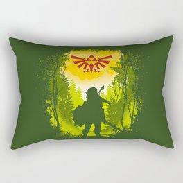 Let the Journey Begin Rectangular Pillow