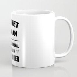 Cornet Woman Like A Normal Woman Just Louder Coffee Mug