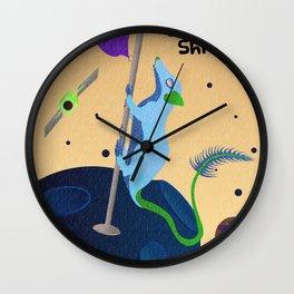 Pen-Tailed Galactic Shrew Wall Clock