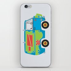 Mystery of the Lost Parts iPhone & iPod Skin