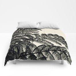 Palm Fan Comforters