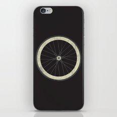 Stay True - Fixie Bike Wheel iPhone & iPod Skin