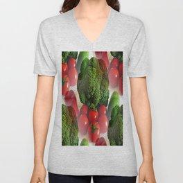 Healthy Vegetables Unisex V-Neck