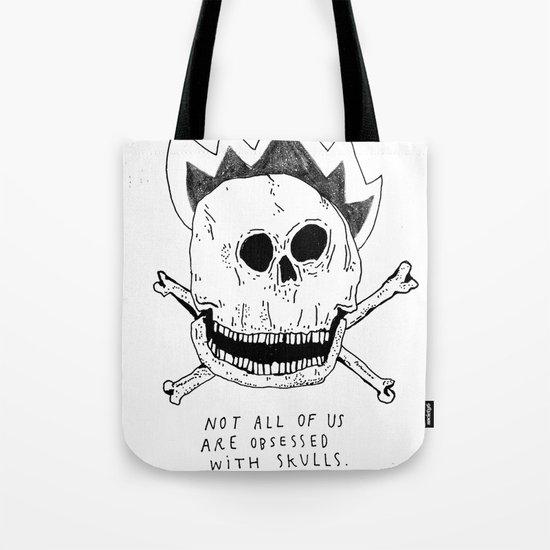 GETTING RID OF PUNK-ROCK MYTHS #1 Tote Bag