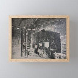 Antique Kitchen Framed Mini Art Print