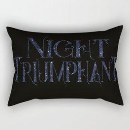 Night Triumphant - ACOWAR Rectangular Pillow