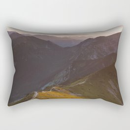 Before sunset - Landscape and Nature Photography Rectangular Pillow