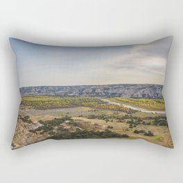 Badlands, Theodore Roosevelt NP, ND 11 Rectangular Pillow