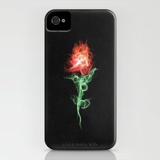 Red Rose  Slim Case iPhone (4, 4s)