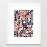 pulp Framed Art Prints featuring Pulp by Eleni Kalorkoti