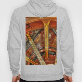 Steam Traction Engine Wheel Hoody