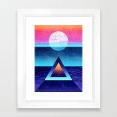 Exploring new dimensions Framed Art Print
