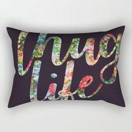 Thug Life Dark Rectangular Pillow