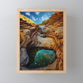 Ernst Canyon, Big Bend Framed Mini Art Print