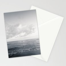 calm day ver.black Stationery Cards