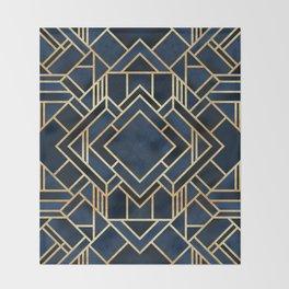 Art Deco Fancy Blue Decke