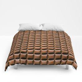 Chocolate Bar Overhead Comforters