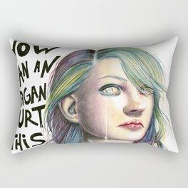How Can An Organ Hurt This Much? Rectangular Pillow