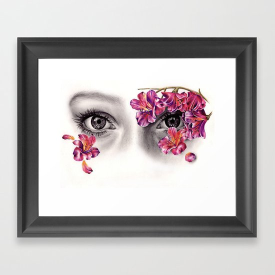 This Night Has Opened My Eyes Framed Art Print