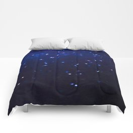 Painted Starry Night Comforters