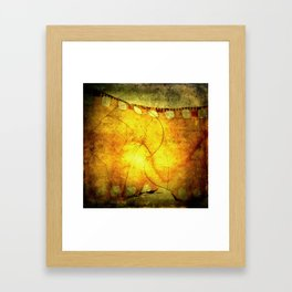 Innermost Thoughts Framed Art Print