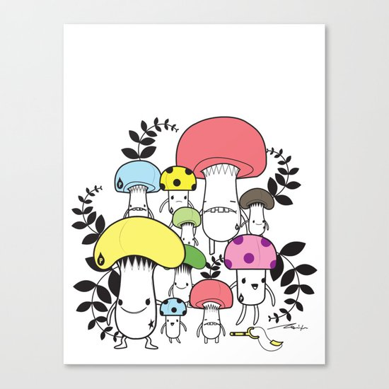 WELCOME TO MUSHROOM LAND - EP.547 VE Canvas Print