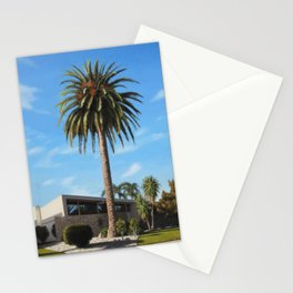 Krisel House With Queen Palm Stationery Cards