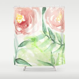 Abstract Tropical Pattern I Shower Curtain