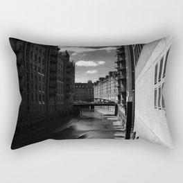 Speicherstadt III Rectangular Pillow