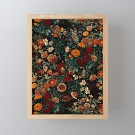 EXOTIC GARDEN - NIGHT XXI Framed Mini Art Print