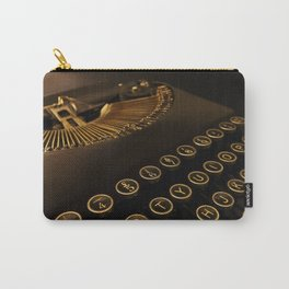 Remington retro vintage typewriter Carry-All Pouch