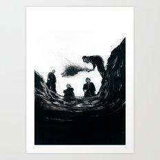 The Saddest Ditch Art Print
