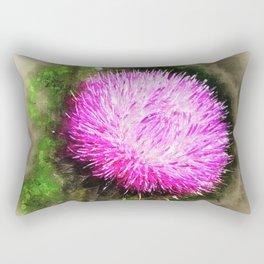Thistle Magic Rectangular Pillow