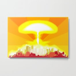End of the World Metal Print