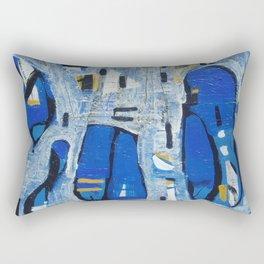 Talking Heads Rectangular Pillow
