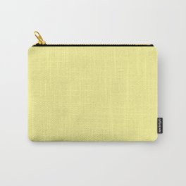 Simply Pastel Yellow Carry-All Pouch