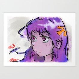 Corpsey Girl Art Print