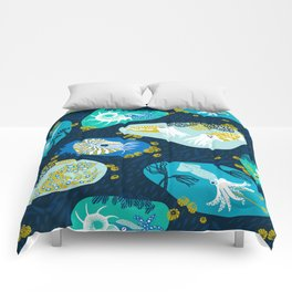 Cephalopods through time Comforters