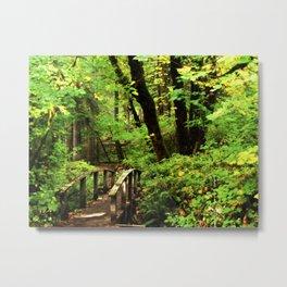 Bridge To A Fairy Tale Metal Print