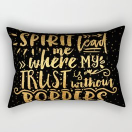 Trust Without Borders 2 Rectangular Pillow