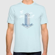Architecture - You're Doing it Wrong Mens Fitted Tee Light Blue SMALL
