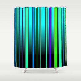 Fresh Blue Shower Curtain