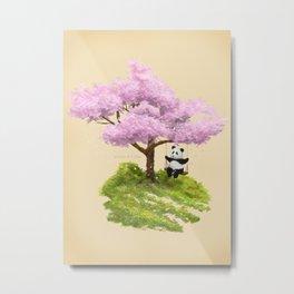 Anjing I - The swing Metal Print